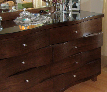 Custom crafted chest of draws