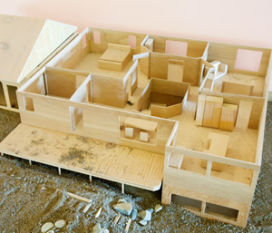 Custom build model houses